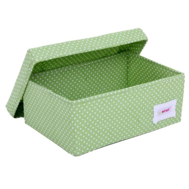 Голяма кутия зелени точки
