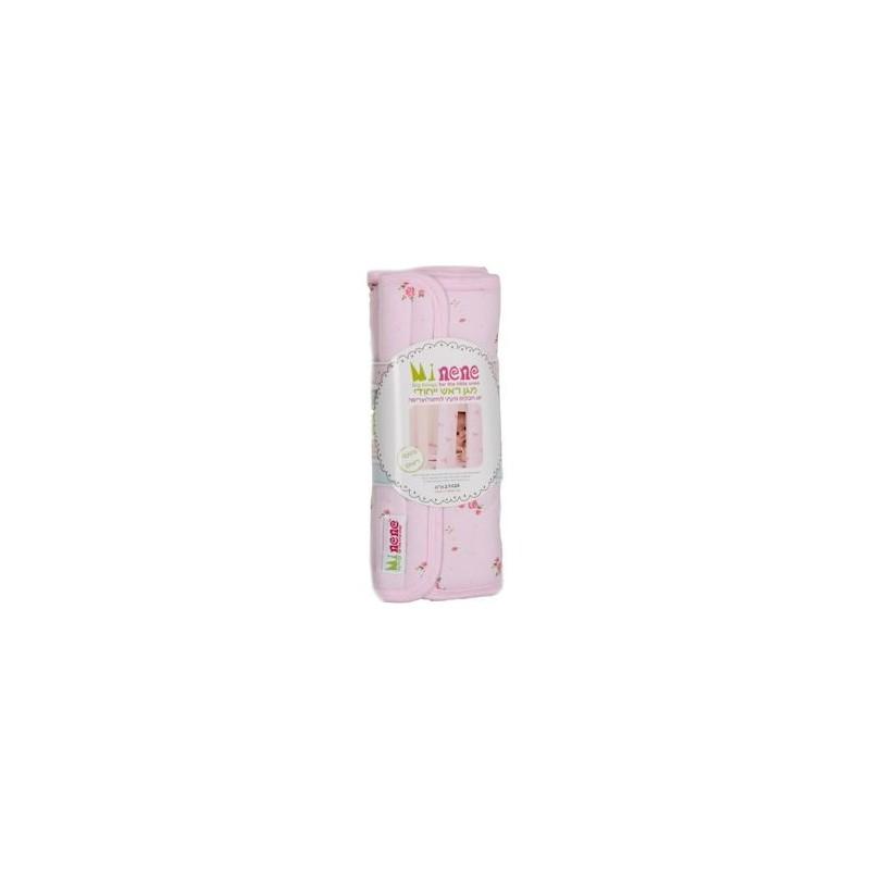 Индивидуален обиколник за креватче 2бр- розови цветя