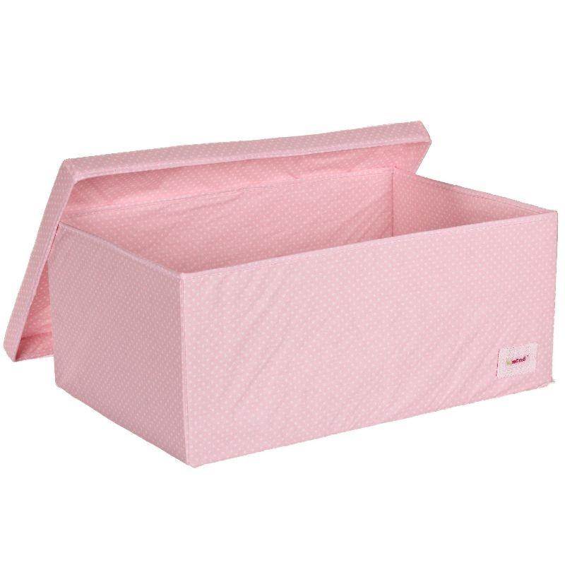 Голяма кутия розови точки