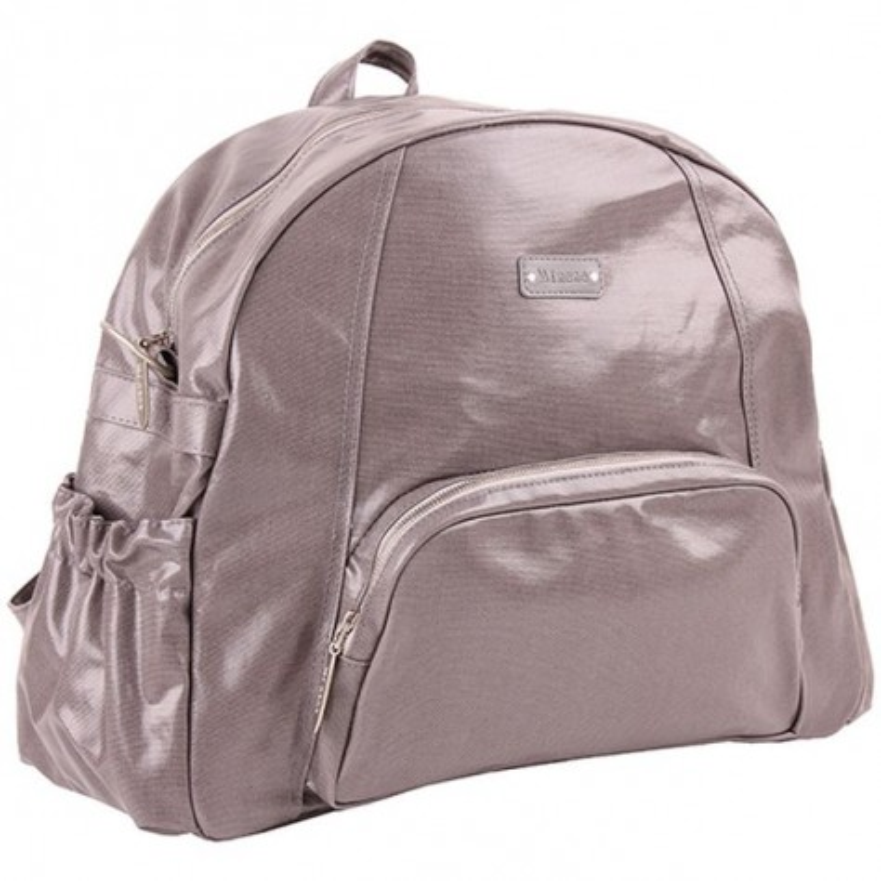 Чанта Ела светло сиво