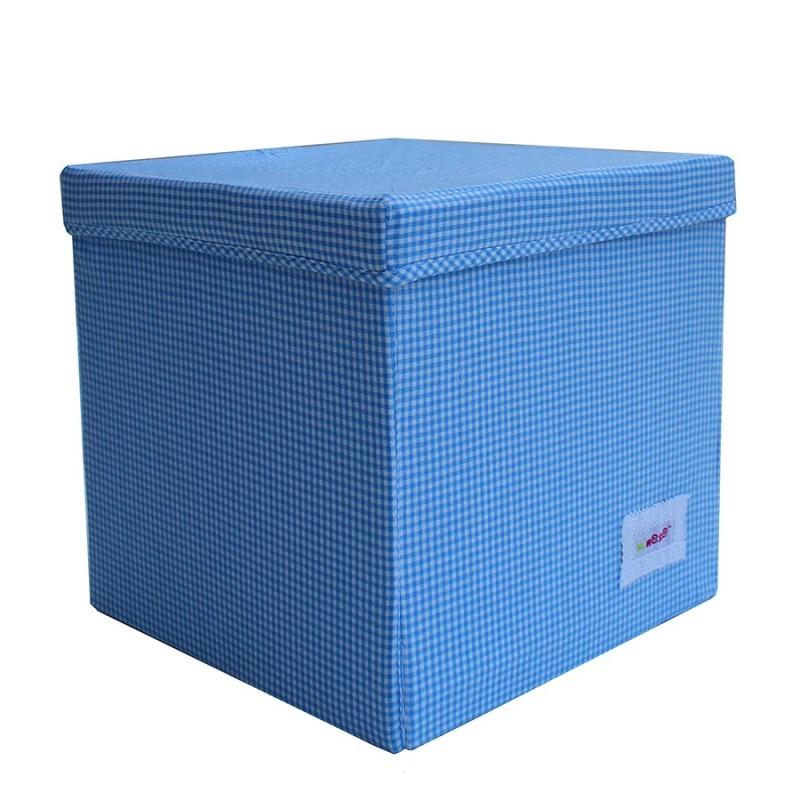 Квадратна кутия Синьо каре