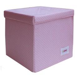 Квадратна кутия Розови точки