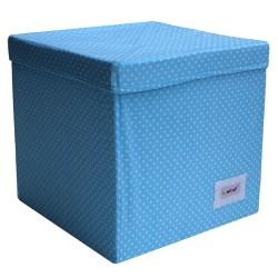 Квадратна кутия Сини точки