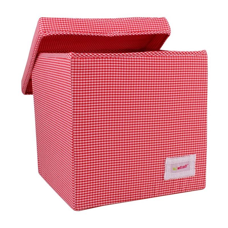 Квадратна кутия Червено  каре