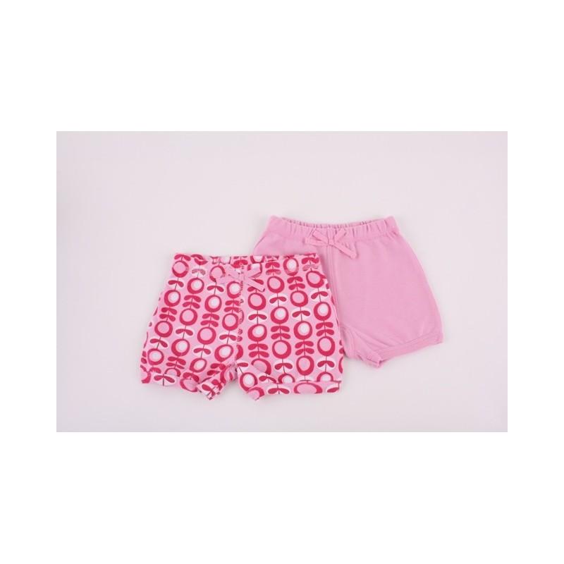 Комплект 2бр панталон Розов + Ретро принт