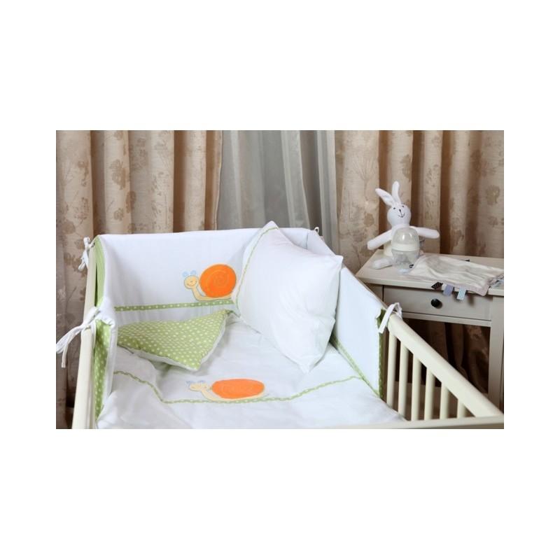 Бебешки сп. к-кт 4 части Зелени точки