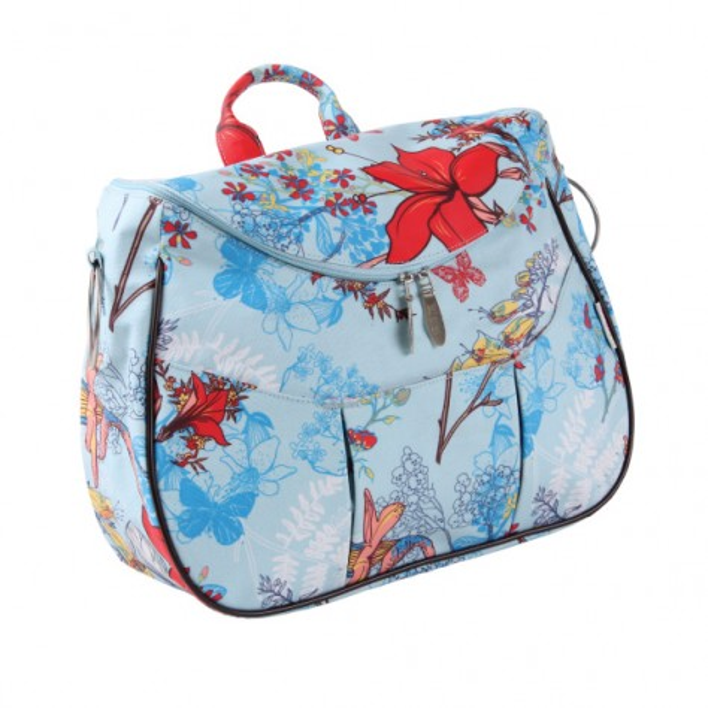 Невероятна Лайла чанта Светло синьо на цветя