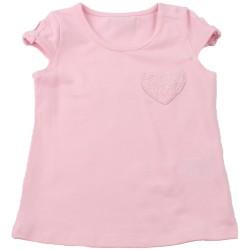 Светло розова тениска