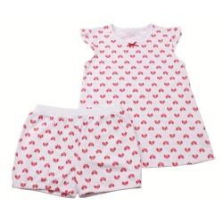 Лятна пижама Червени панделки