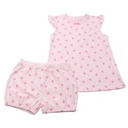 Лятна пижама Розови цветя