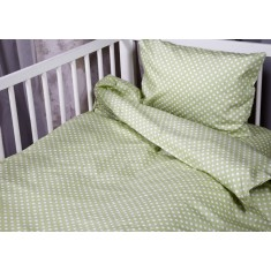 Бебешки сп. к-кт 3 части Зелени точки
