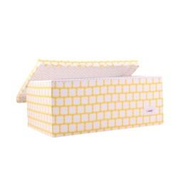 Голяма кутия Жълт принт