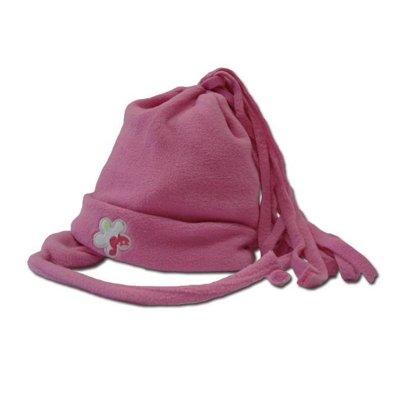 Зимна шапка Тъмно розова