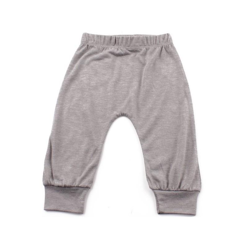 Дълъг панталон момиче Светлосив
