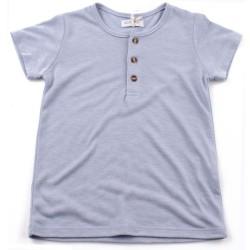 Тениска момче светлосиня