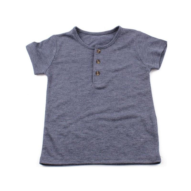 Тениска момче тъмносиня