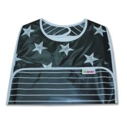 Лигавник, улавящ трохички Черни и бели звезди