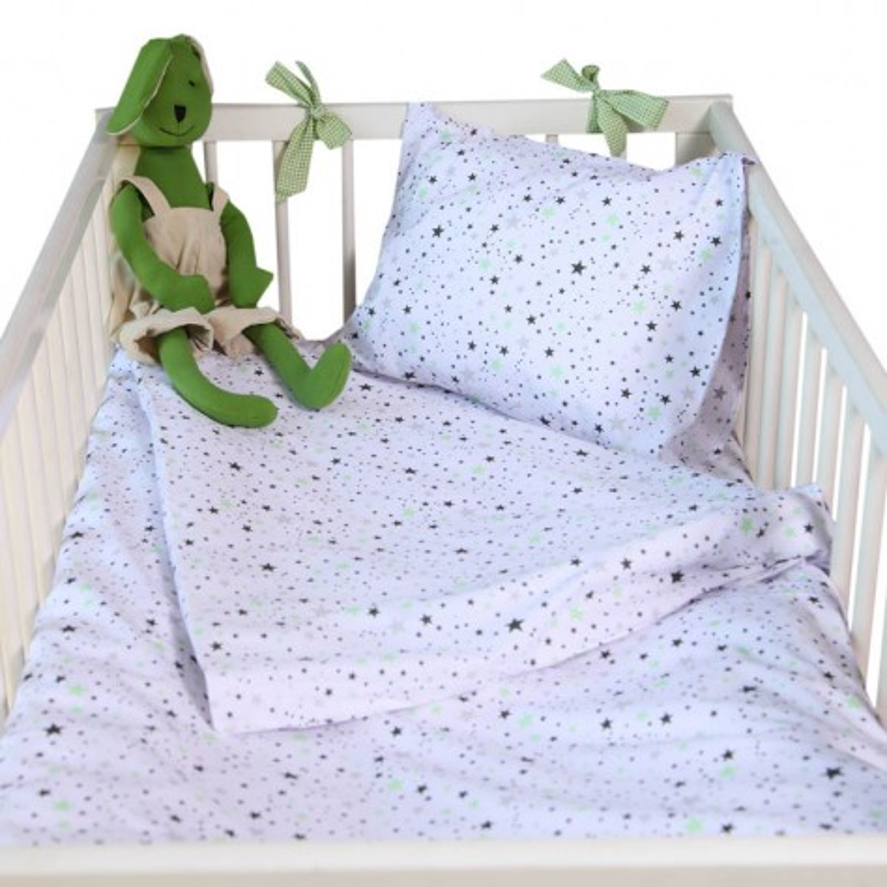 Бебешки сп.к-кт 3 части Зелени звезди