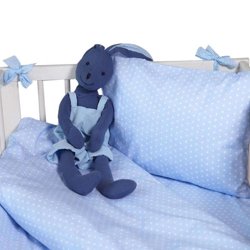 Бебешки сп.к-кт 3 части Сини точки