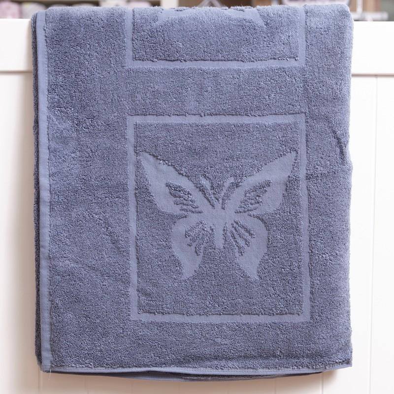 Детска кърпа тъмно синя Пеперуда