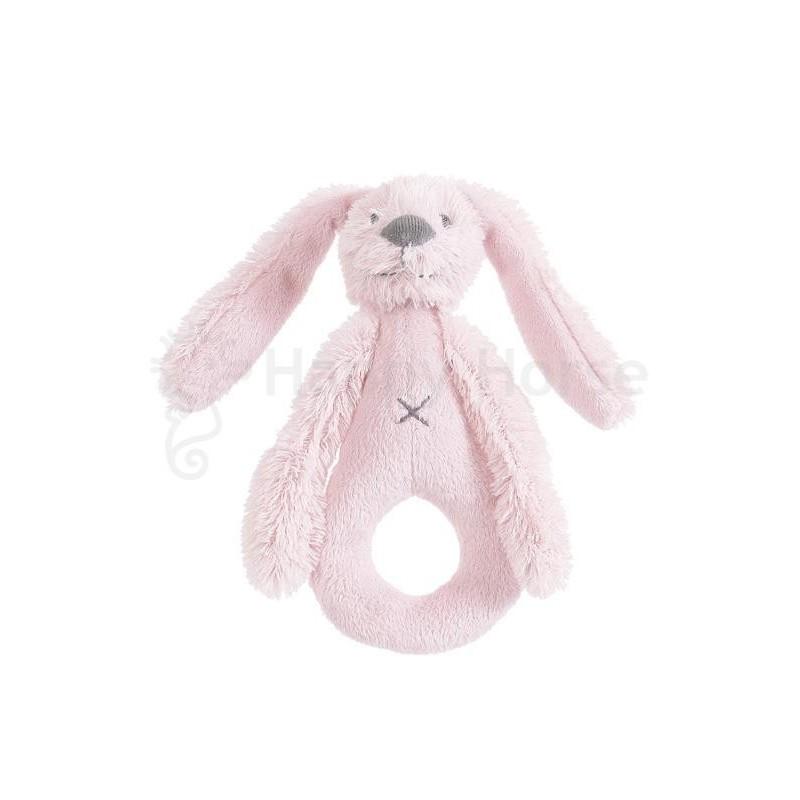 Дрънкалка зайчето Richie розово