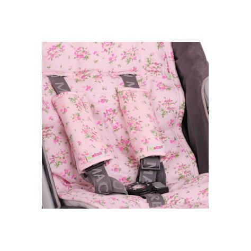 Протектори за колани розови цветя